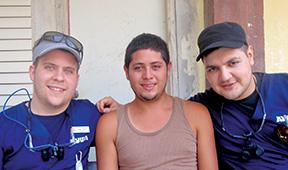 Daniel Nosyk (L) and Arash Maskin (R).