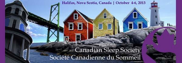 Canadian Sleep Society Conference - 2013