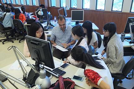 Eli Whitney And Visiting Students From China In The CLC