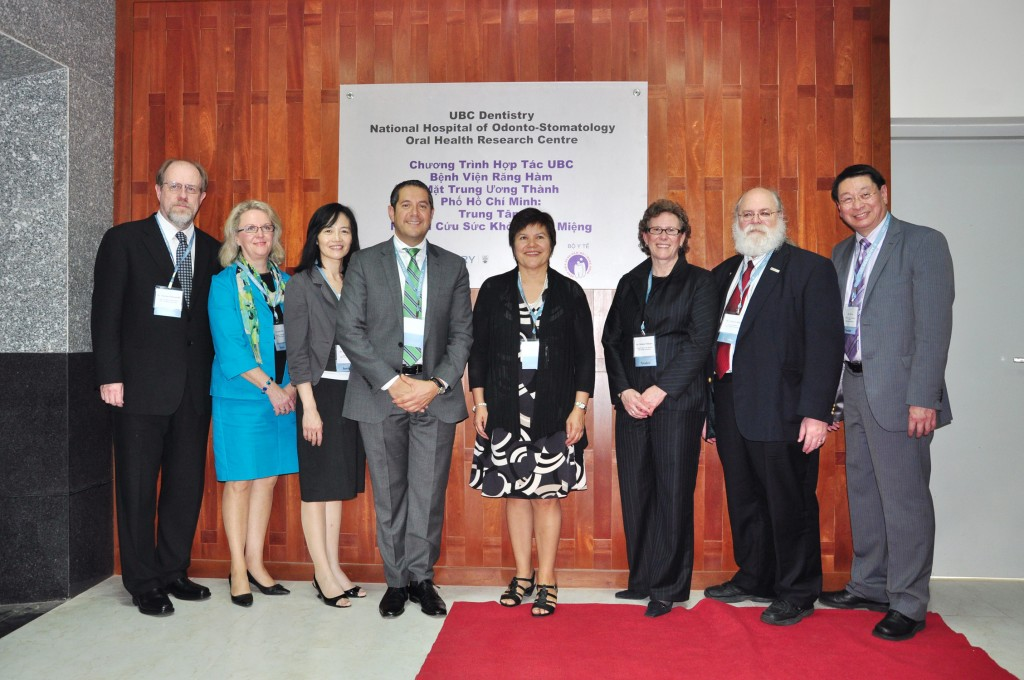 The opening celebration of the UBC Dentistry & National Hospital of Odonto-Stomatology Oral Health Research Centre in Ho Chi Minh City