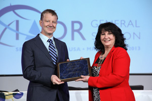 Christopher Overall - IADR 2013 - Distinguished Scientist Award