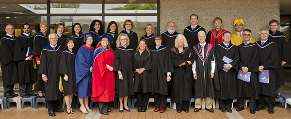 Faculty And Guests - Graduation - 2013