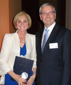 Karen Gardner - Stephen Toope - U21 Award