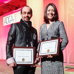 Mario Brondani - Shiva Khatami - Olav Alvares Award - 2013