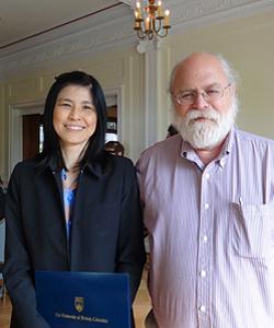 Dr. Komkham Pattanaporn with Dr. Charles Shuler
