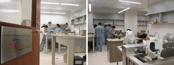 Plaster Lab in Use