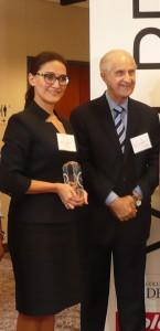 Dr. Rana Tarzemany and Dr. Anthony Volpe.